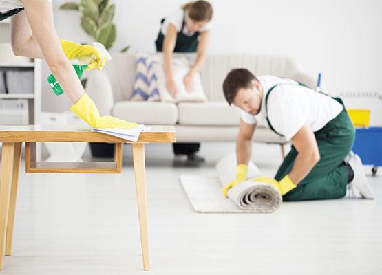 nettoyages à domicile